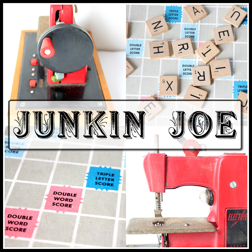 Junkin Joe Vintage and Thrifty Finds, Features and Linky Party