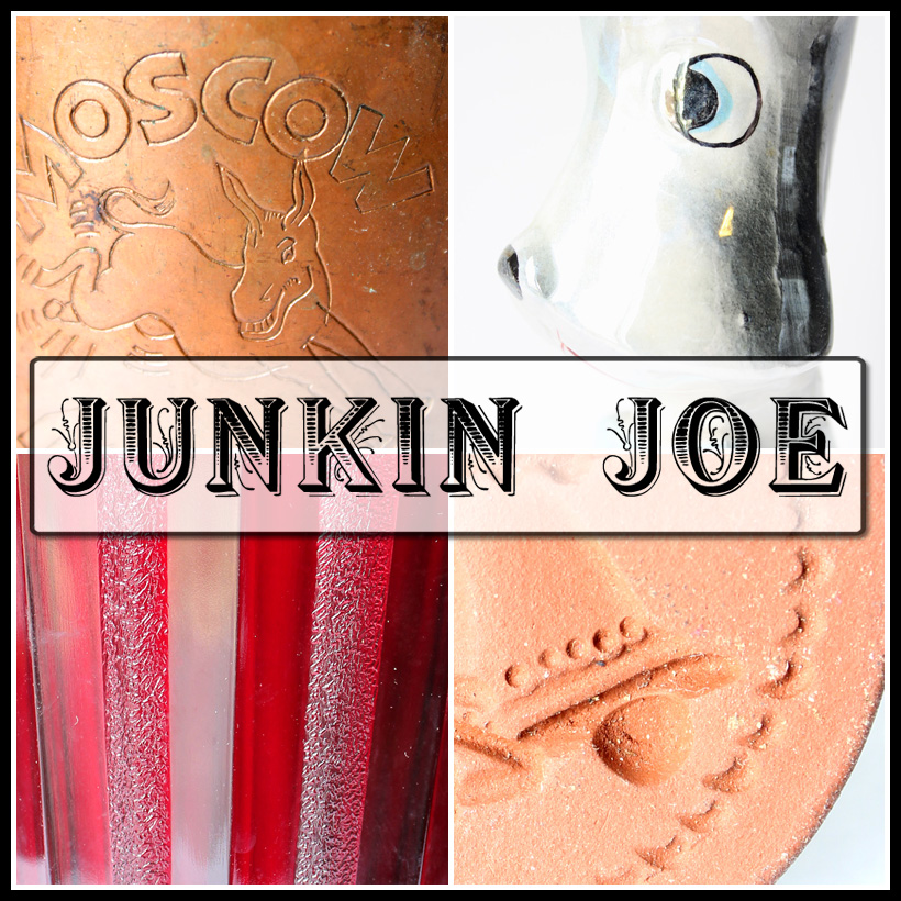 Junkin Joe's Thrifty Finds, Features and Linky Party ALL WELCOME