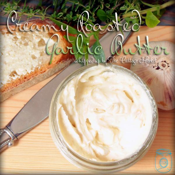 Creamy Roasted Garlic Butter EASY recipe