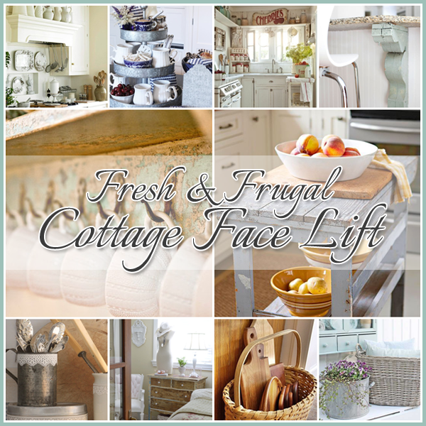 Fresh & Frugal Cottage Touches …little facelifts!