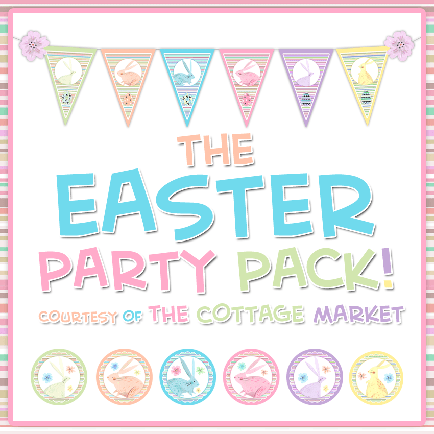 FREE Easter And Spring Printables Party Pack The Cottage