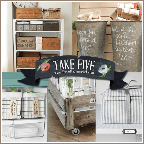 Take Five: Organizing with Style