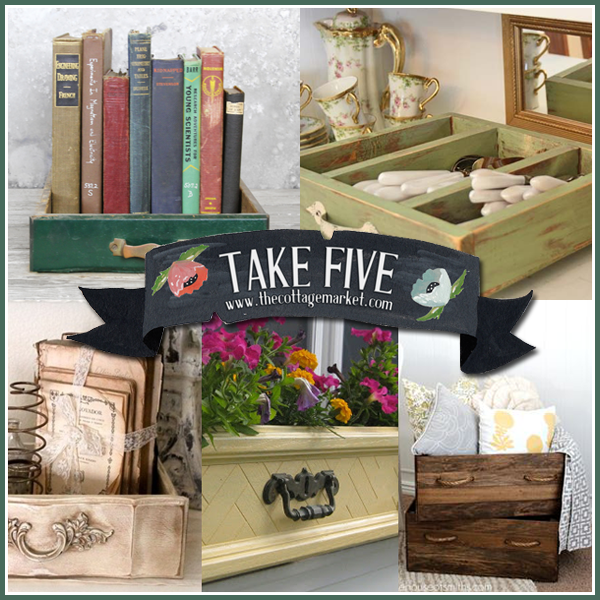 5 Unique Upcycled Drawer Projects