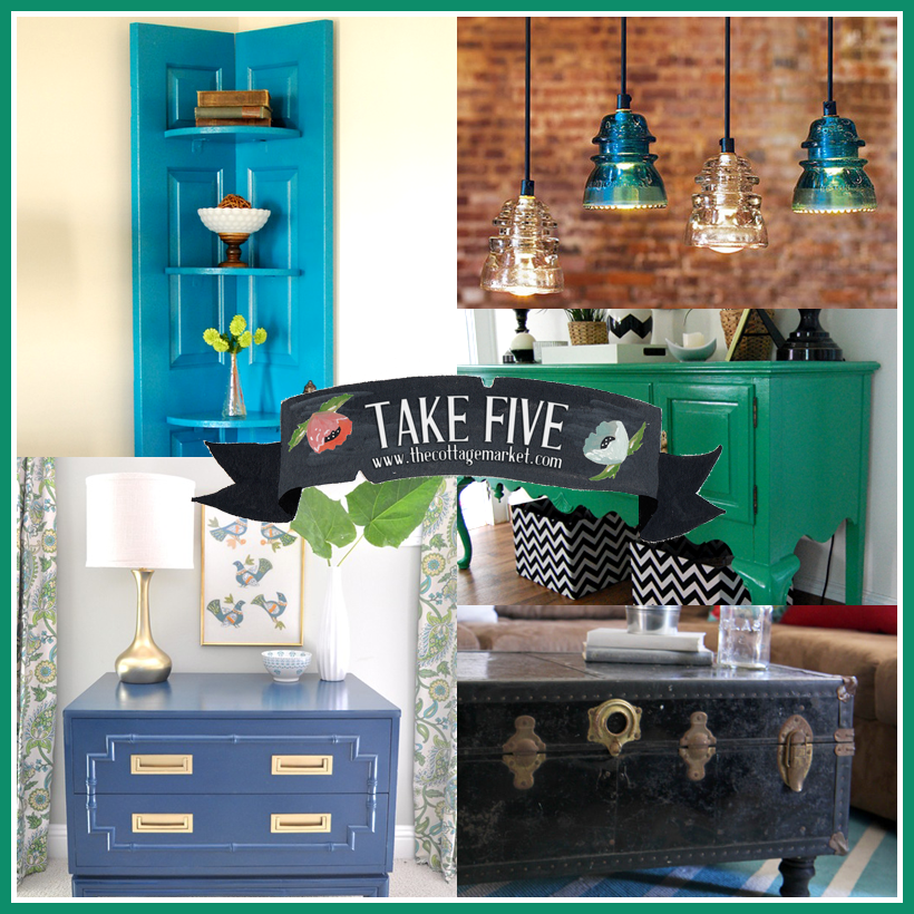 Take 5: All About Upcycling DIY's