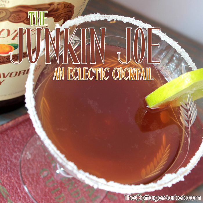 A Vintage find and a new Cocktail…The Junkin Joe