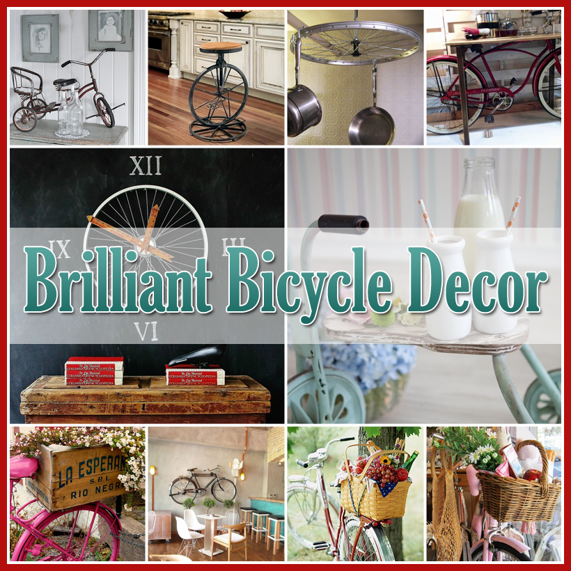 Brilliant Bicycle Decor for the Home and Garden
