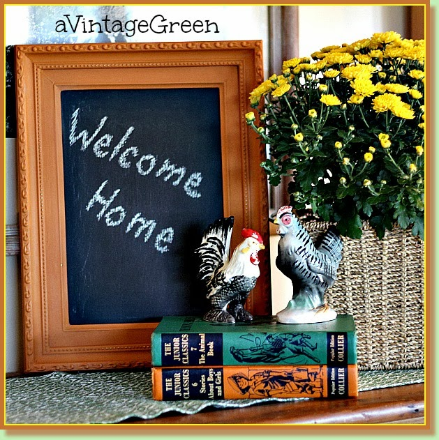 chalk paint welcome home