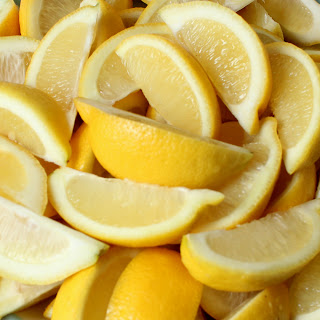Meatless Monday … Pucker UP … Lemons are on the menu!