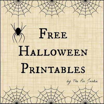 free halloween printales 2