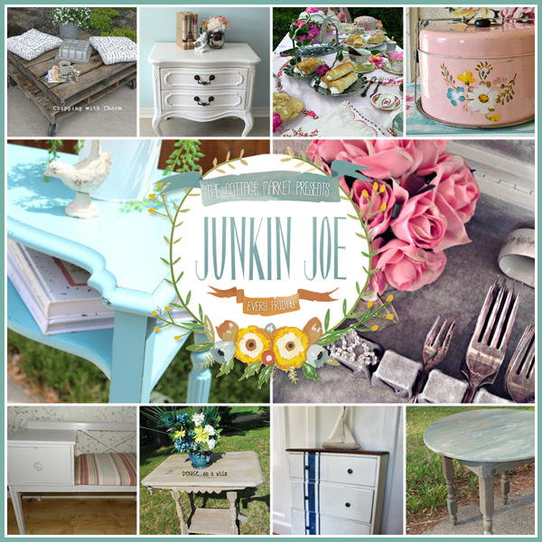 Junkin Joe Thrifty & Vintage Finds, A GIVEAWAY, Features and a LINKY Party…ALL WELCOME