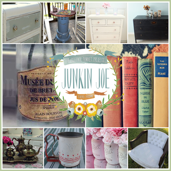 Junkin Joe's Vintage and Thrifty Finds, Features, Linky Party