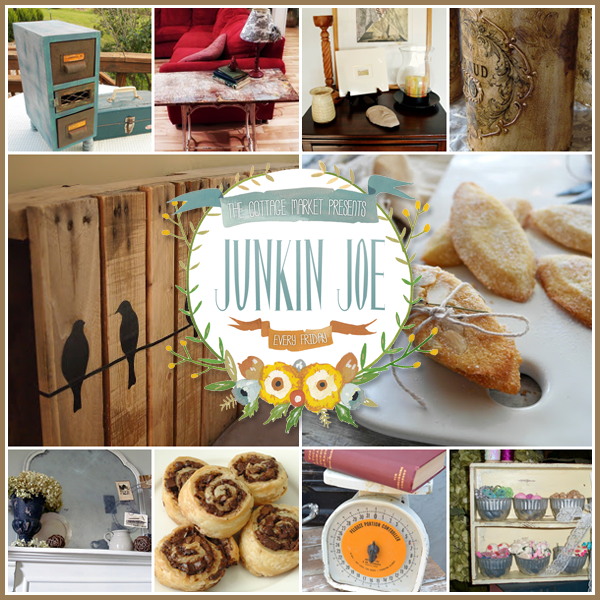 Time for Junkin Joe's Linky Party! Everyone's Welcome! Great upcycled creations…vintage finds and more!