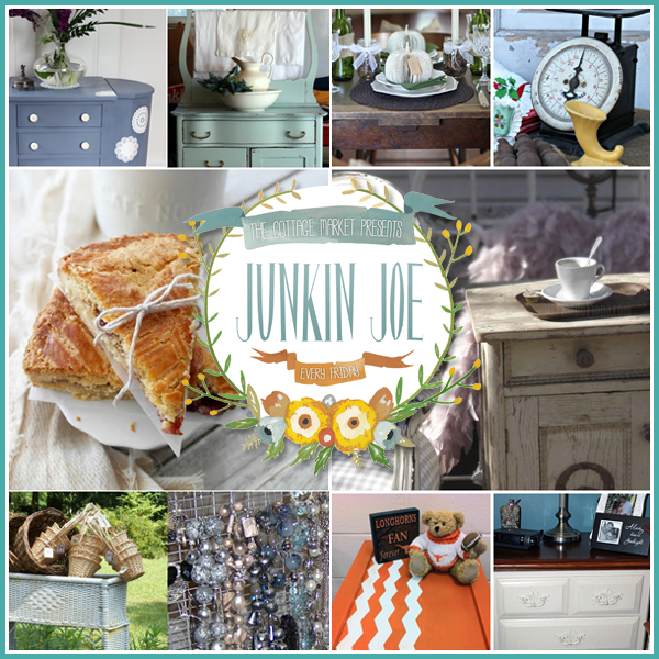 Upcycled Creations a Junkin Joe Feature Post plus a Linky Party…everyone is welcome!