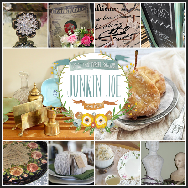 Upcycling, Vintage Finds, Painted Furniture and more…Come and Party with JJ and join our Linky Party