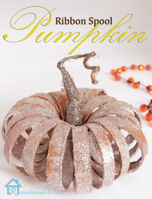 ribbon spool pumpkin2
