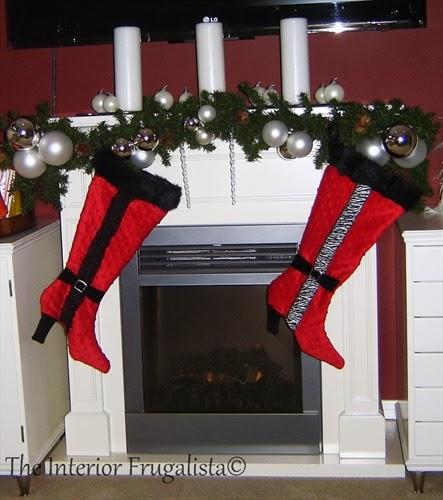 2nd set Handmade Stockings2011