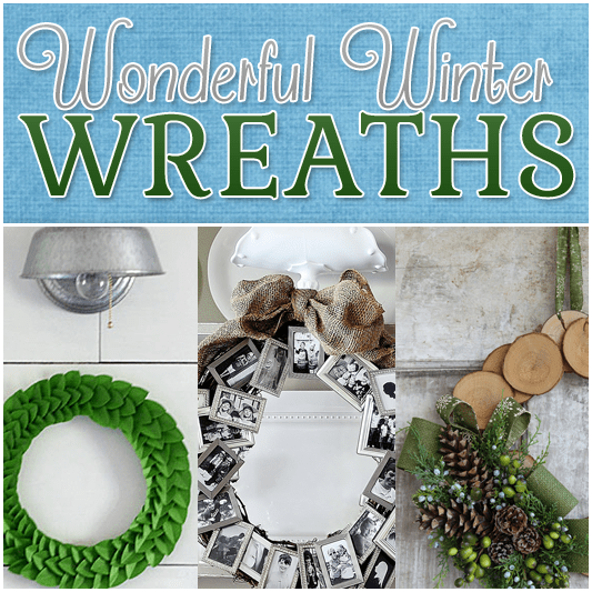 Wonderful Winter Wreath Projects
