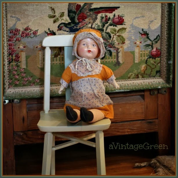 dolly on childs chair