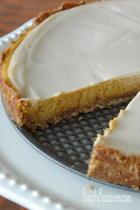 pumpkin cheesecake with sour cream topping 5-2