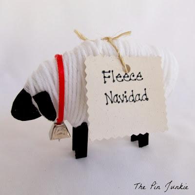Christmas sheep 2
