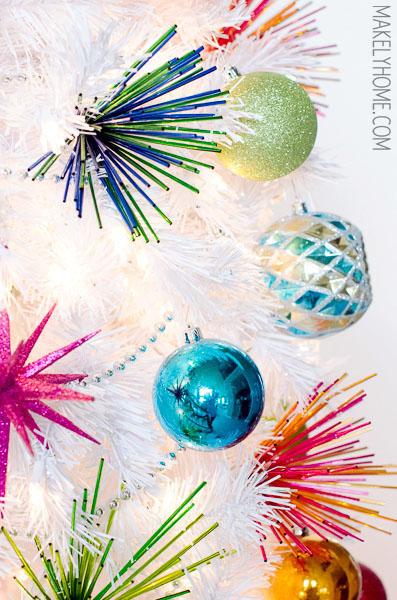 Fake-White-Christmas-Tree