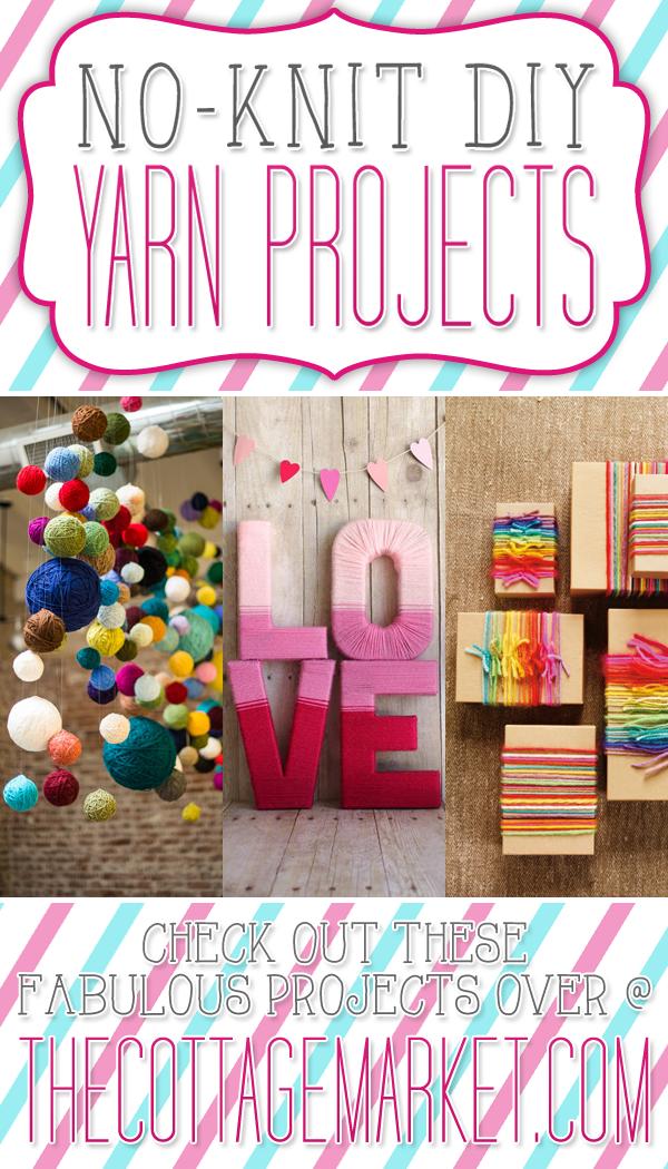 No-Knit DIY Yarn Projects