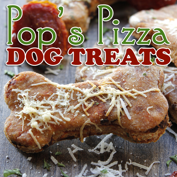 Pop's Pizza Homemade Dog Treats