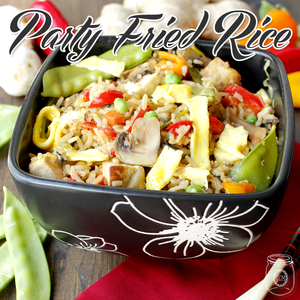 Easy Fried Rice Party Style