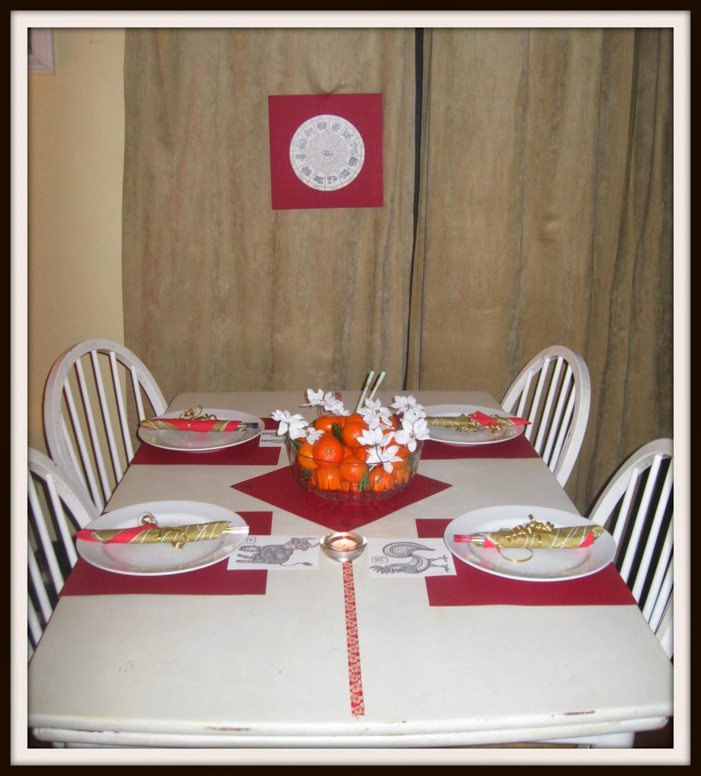 CNY Table
