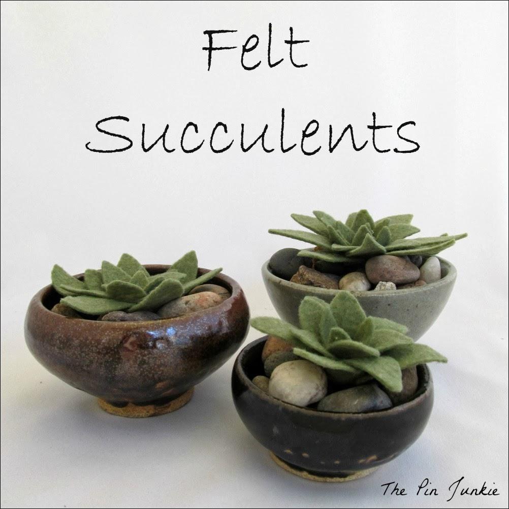 Felt Succulents 2