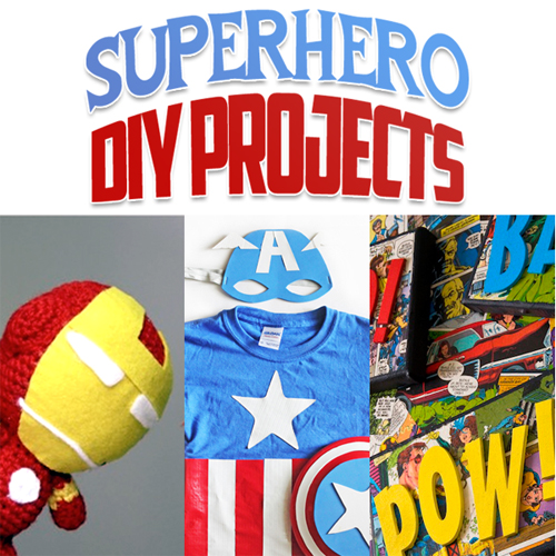 Superhero DIY Projects