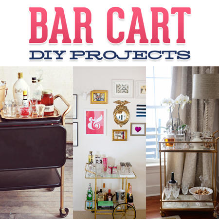 Bar Cart DIY Projects