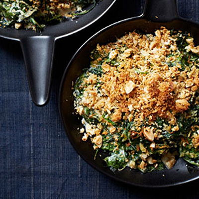 My Recipes...Almond-Milk Creamed Spinach