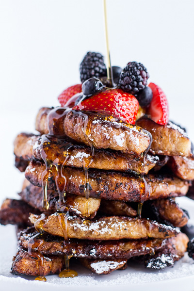 Half Baked Harvest...Coffee Caramelized Croissant French Toast Sticks