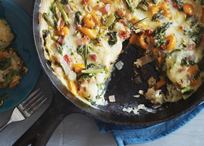 Vegetarian Times...Broccoli Raab Frittata