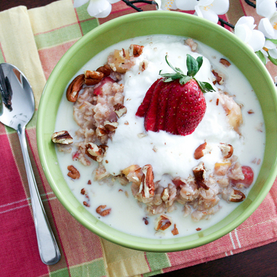 The Healthy Foodie...Oatmeal with a Tropical Twist