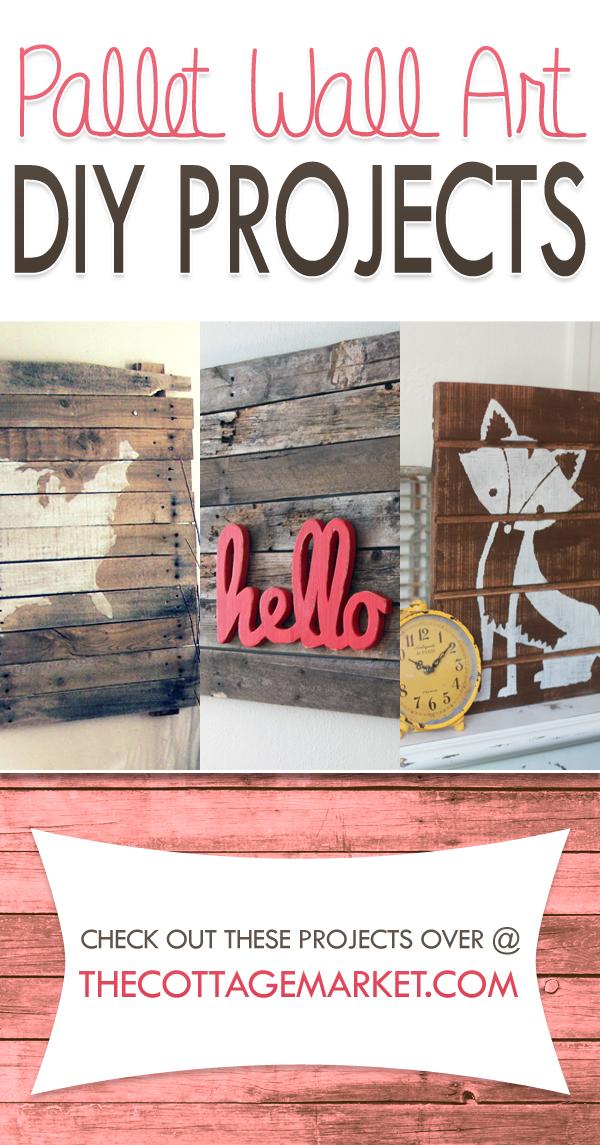DIY Pallet Wall Art Projects