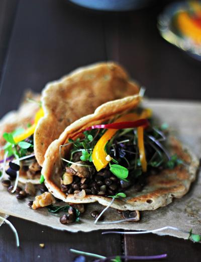 Whole Hearted Eats...Happy Tacos with Avocado Sauce