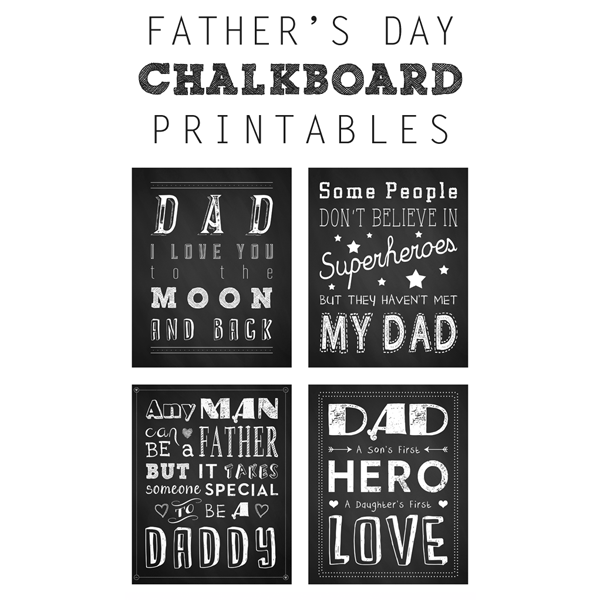 Free Father's Day Art Printables