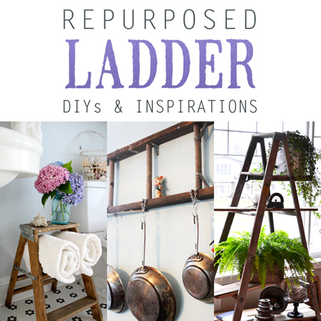 Repurposed Ladder DIY's and Inspirations