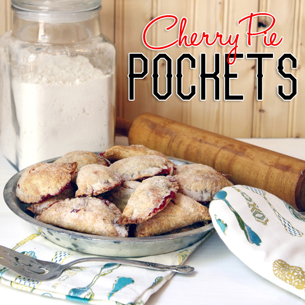 Quick and Easy Cherry Pie Pockets