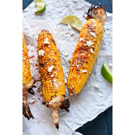 Confections of a Foodie Bride...Mexican Grilled Corn (Elote)