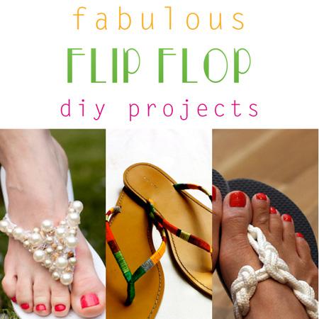 Fabulous Flip Flop DIY Projects