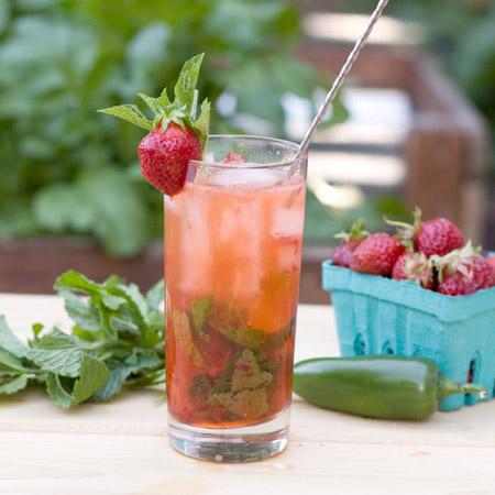 PDX Food Love...Strawberry Jalapeno Mojito