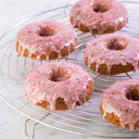 All Gluten-Free Desserts...Strawberry Banana Chocolate Chip Donuts