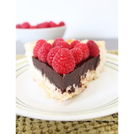 Gluten Free Fix...Chocolate Macaroon Pie