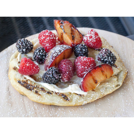 Cooking Channel...Bobby Flay's Dessert Pizza