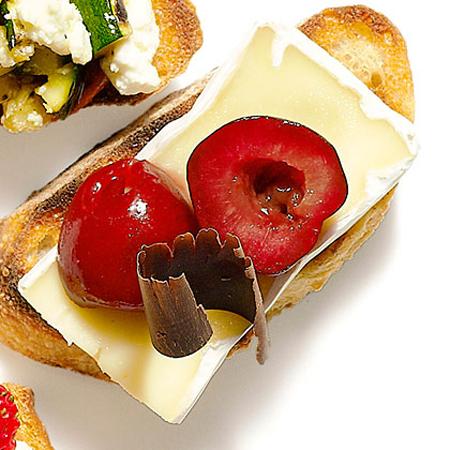 My Recipes...Cheese & Chocolate Bruschetta