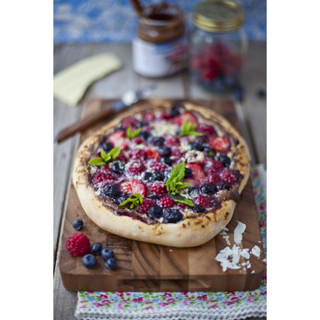 Donal Skehan...Summer Berry Sweet Pizza