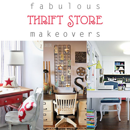 Fabulous Thrift Store Makeovers